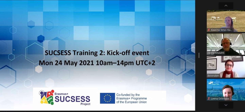 SUCSESS Training 2 kick-off!